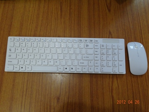 isolated wireless keyboard mouse combo in lucknow uttar pradesh india globosus infotech. Black Bedroom Furniture Sets. Home Design Ideas