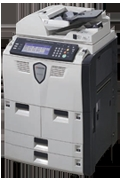 Adjustable Touch Screen Control Panel Copier