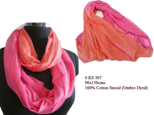Ombre Dyed Snood