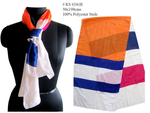Big Stripe Stole