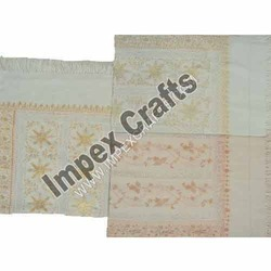Plain Woolen Embroidered Scarves