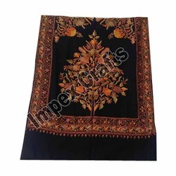 Printed Woolen Embroidered Scarves