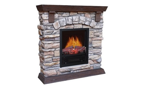 Marble Electric Fireplace
