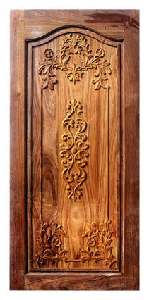 Wood Door Carving