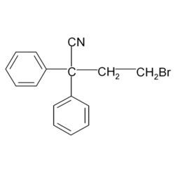 4-Bromo-2,2-Diphenyl Butyronitrile