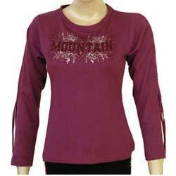 Ladies Trendy Top In Fleece