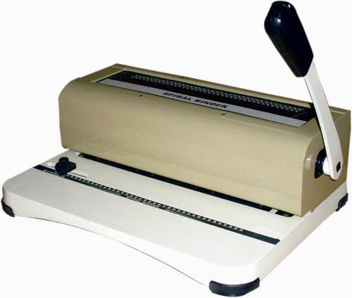 book spiral binding machine