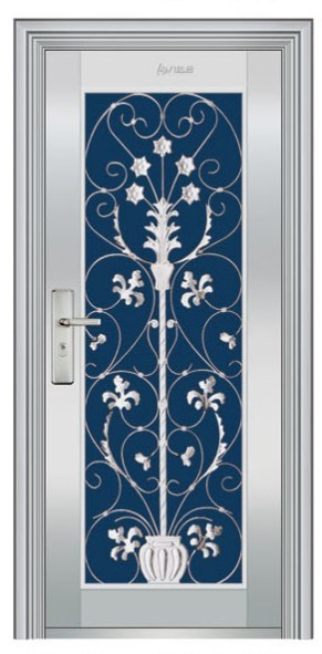 Stainless Steel Designer Doors