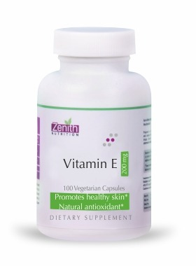 Nutritions Vitamin-E 200mg - 100 Capsules