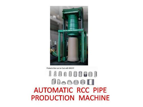 Automatic Precast Concrete Pipe Machine