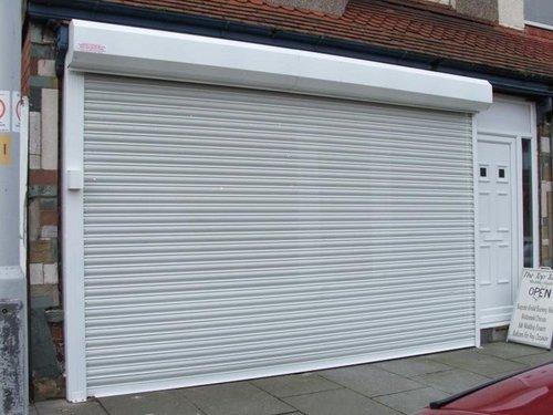 Roller Shutter Door : Aluminum alloy roller shutter door for garage in sonawalla