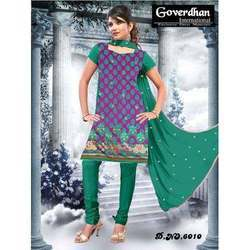 Ethnic Chanderi Silk Salwar Suits