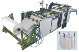Both Side Stitching & Cutting Machine For U-Panel Type Jumbo Bag