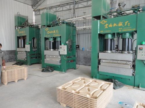 Compressed Wood Pallet Machine In Zhengzhou Henan China