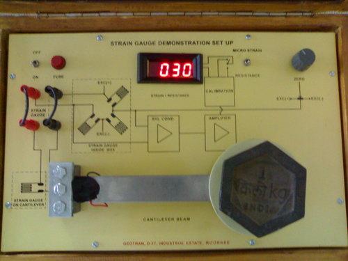 Strain Gauge Sensor Strain Gauge Demonstration Kit