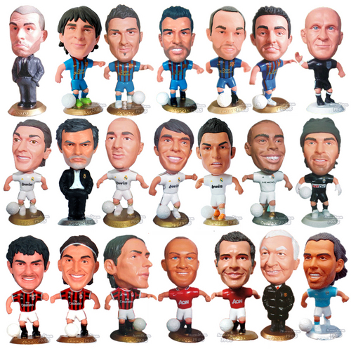 Soccer Football Player Messi Toy Doll Figure