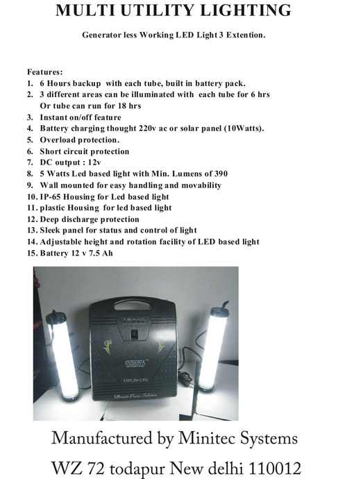 Led Multy Utility Lighting