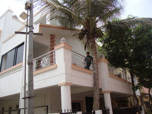 Stainless steel balcony railing in kharadi pune for Latest balcony designs in india