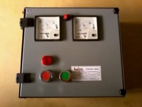 Single phase submersible pump control panel in naroda road for Motor starter control panel