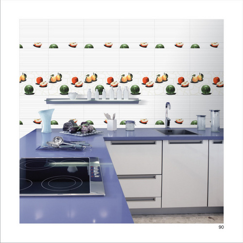 Kitchen wall tile in bhuj gujarat india blue pearl - Kitchen without wall tiles ...
