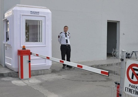 Prefab Cabins on Karmod Prefabricated Building Technologies Security Cabin Guard Booth