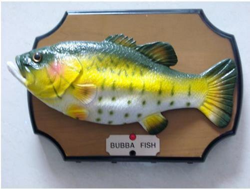 Big mouth billy bass bubba fish in shenzhen guangdong for Big mouth fish