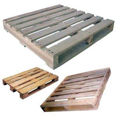 Timber Pinewood Pallet