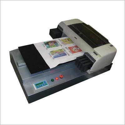 machine for printing on t shirts
