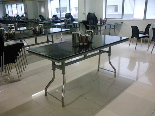 6 Seater Granite Top Dining Table Frog Type In Midc Gokul Shirgaon Kolhapu