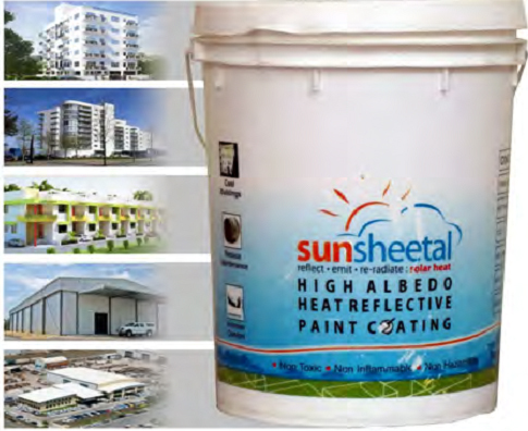 High Albedo Heat Reflective Paint In Mumbai Maharashtra India Tech Energy Corporation