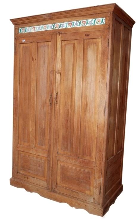 Antique wooden almirah in basni phase ii jodhpur rajasthan india vinod handicrafts - Wooden almirah pictures ...
