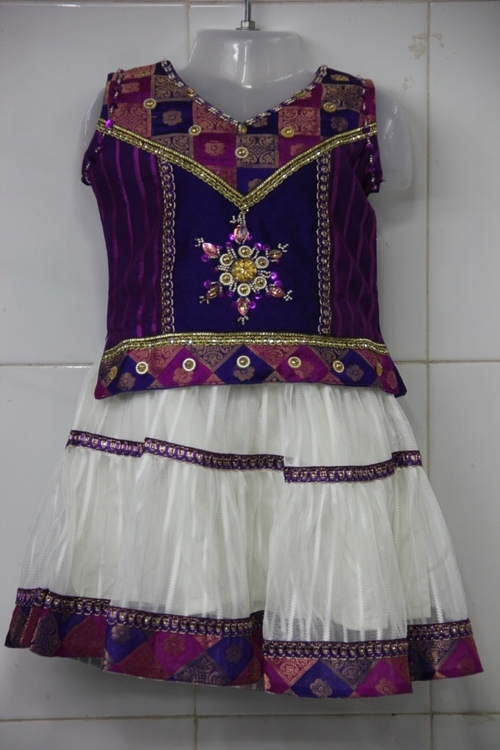 Indian Full Skirt Blouse Designs 109
