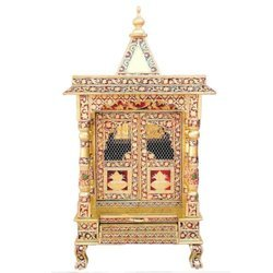 Gold Handicraft Wooden Temples