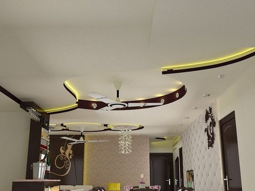 Residential False Ceiling Designs 500 x 375