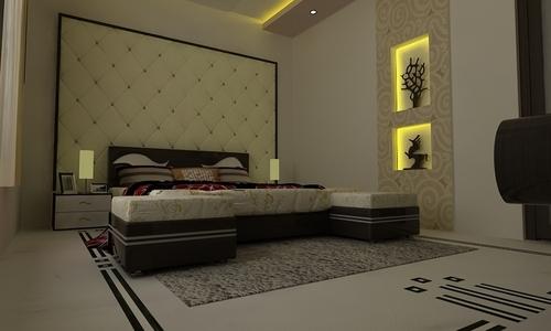 Parent Bedroom Interior Decoration Services In New Area