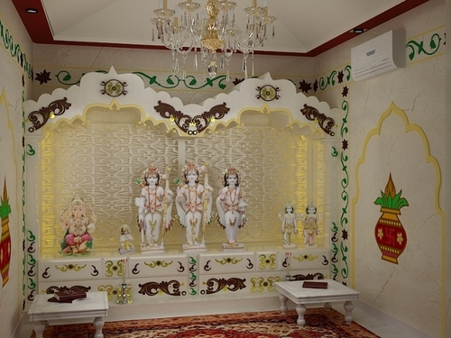 Puja Room Interior Decoration Services in Noida, Uttar ...
