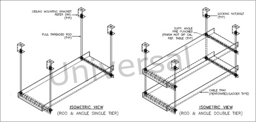 Cable Tray Specification Cable Tray Support System Rod
