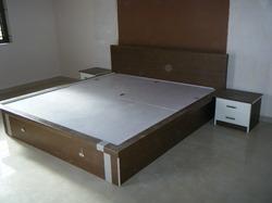 Designer Double Bed In Kathwada Ahmedabad Gujarat India Shreeji Modular Foundation