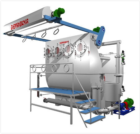 Atmospheric Soft Flow Dyeing Machines