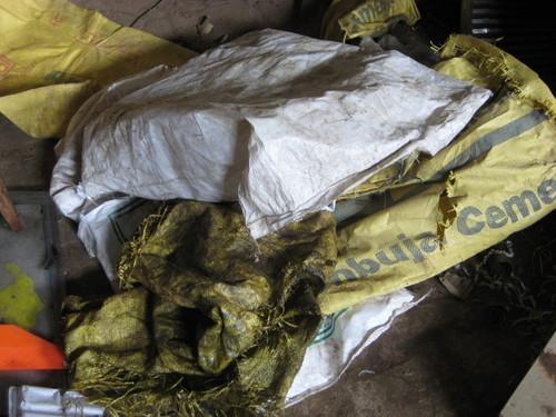 Cement Plastic Bags Shredder