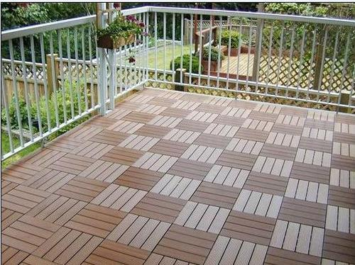 WPC Outdoor Decorative Tiles in Qingdao Shandong China