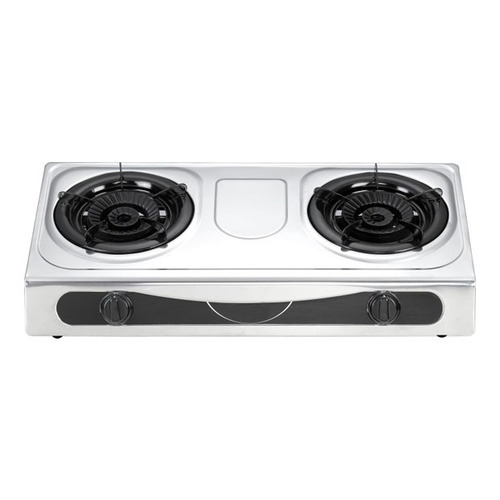 Table Gas Stove With Two Burner