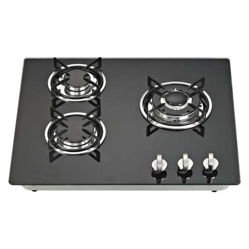 Gas Stove With 3 Burners