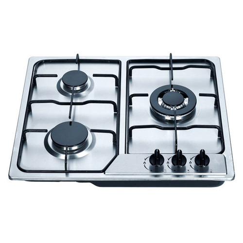 Glass Built-In Gas Stove With 3 Burners