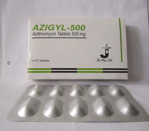 Azigyl Tablets (500 mg)