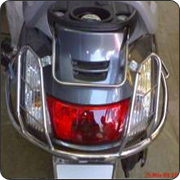 Activa Rear Steel Number Plate
