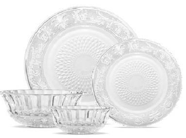 Glass Dinner Sets in Ahmedabad, Gujarat, India - Arpit Traders