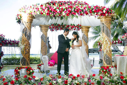 Wedding flower decoration wedding ideas kerala wedding flower decorations junglespirit Image collections