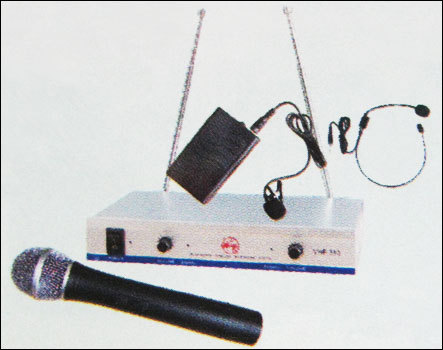 Wireless Microphones (Vhf-260)