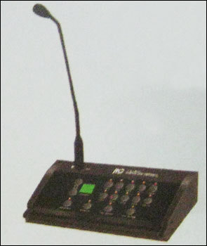 Remote Zone Paging Microphone